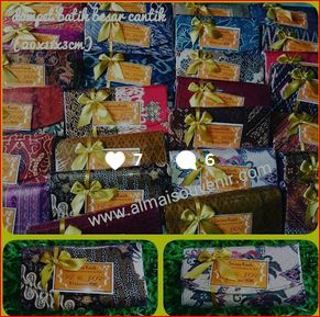doorgift DIY dompet