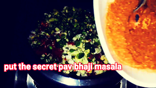 image of adding secret masala here