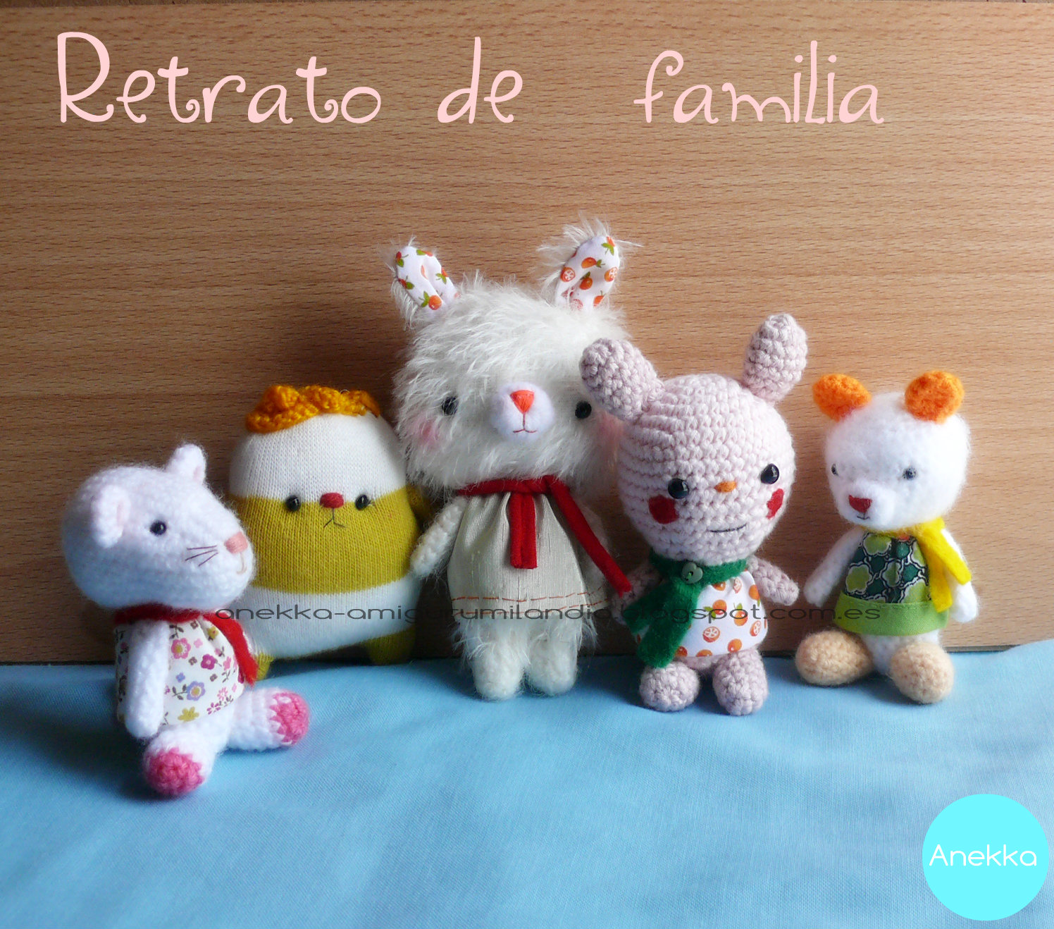 cute collection amigurumi mohair anekka