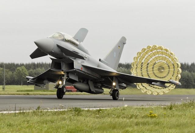 Eurofighter Typhoon Air Brake