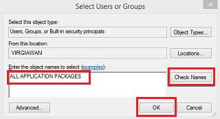 Cara mengatasi aplikasi bawaan windows 8 tidak bisa dibuka dan keluar sendiri