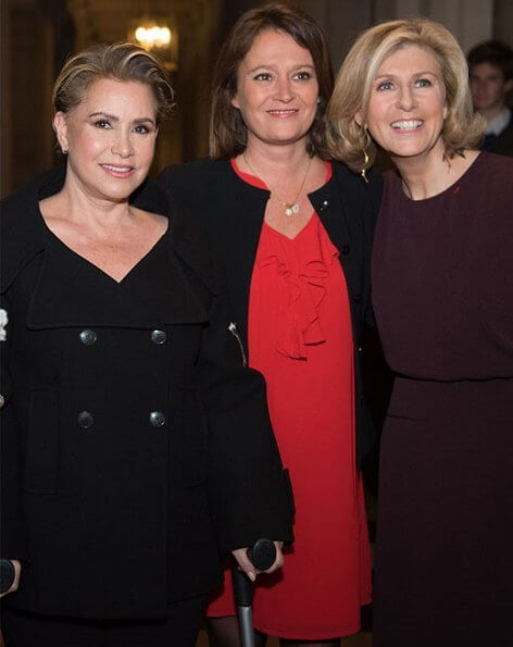 Grand Duchess Maria Teresa attended the award ceremony of 2019 Woman of Influence Award as the guest of honour