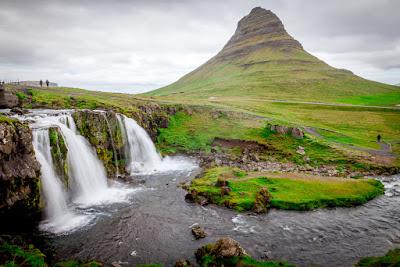 Cinq cascades de l'ouest de l'Islande