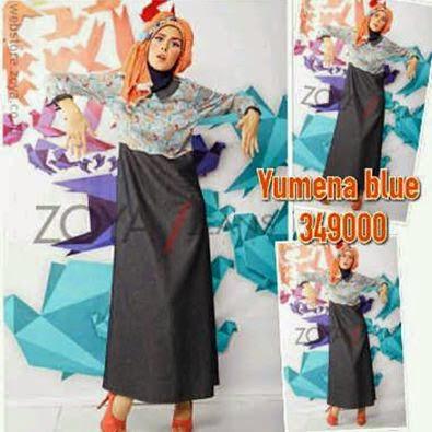 10 Model Baju Muslim Zoya Jeans Untuk Remaja Terbaru 2017