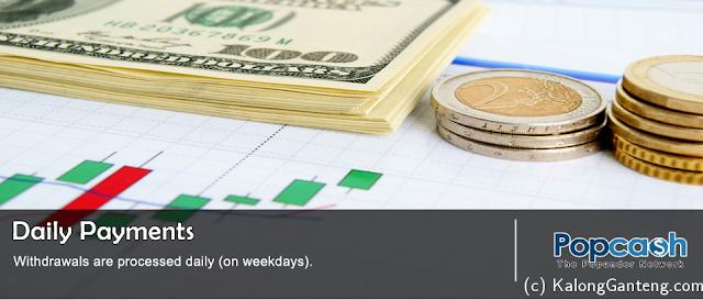 Cara Mendapatkan Dollar dari Popcash dan Cara Daftarnya
