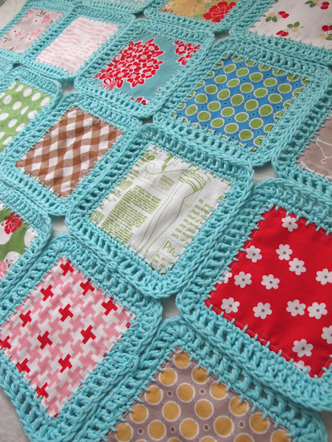 crochet along a long fusion blanket free pattern bee bonnet little miss shabby flickr