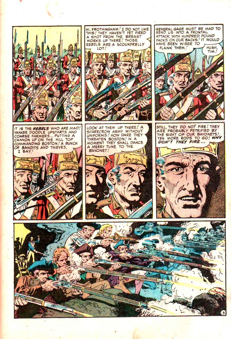Two-Fisted Tales v1 #25 - Wally Wood ec war golden age comic book page art