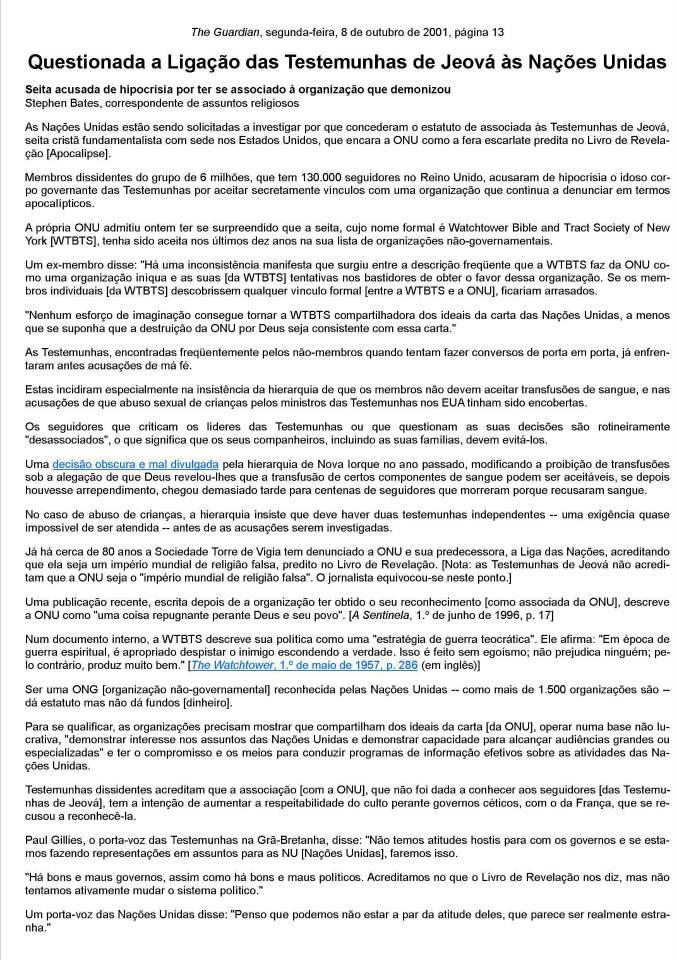 277d1c13b4 NOVA VIDA EM CRISTO 2  TORRE DE VIGIA A NOVA FILIADA DA ONU