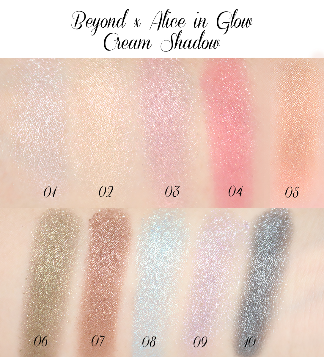 beyond, beyond cosmetics, beyond x alice, beyondxalice, alice, alice in wonderland, beyond cream shadow, beyond alice cream shadow, alice cream shadow, cream shadow, cream eyeshadow, review
