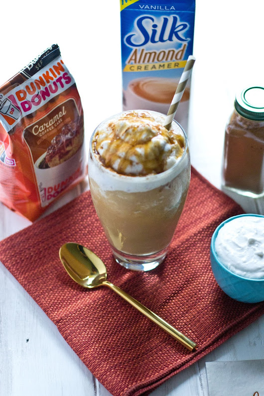 Coffee Creamer Combos: Caramel Coffee Cake | Latte, Frappe, or Iced Coffee Drinks