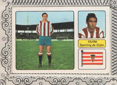 Cromo del campeonato de liga 73-74, álbum de ed. Disgra