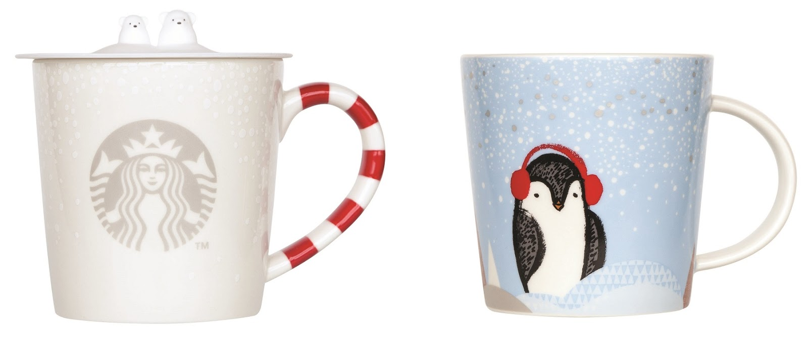 candy cane mug with silicone cover php595 penguin mug php525