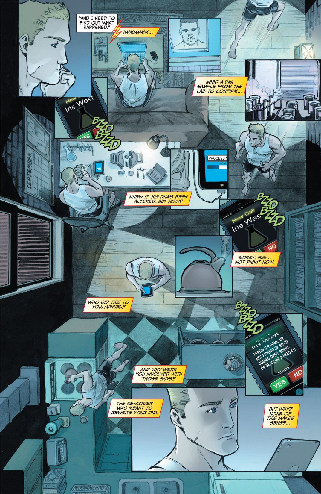 Read online The Flash (2011) comic -  Issue #1 - 17