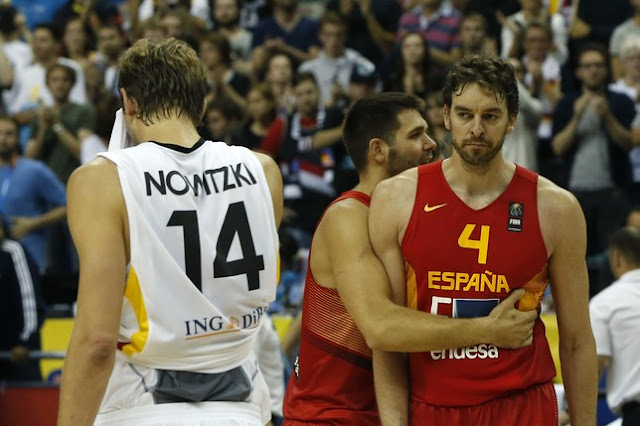 España lucha en el Eurobasket contra la maldición de vestir Nike