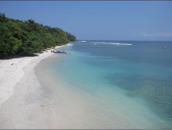 pantai pananjung pangandaran beach