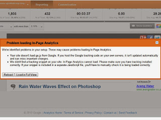 Fix Problem Loading ga.js In-Page Google Analytics