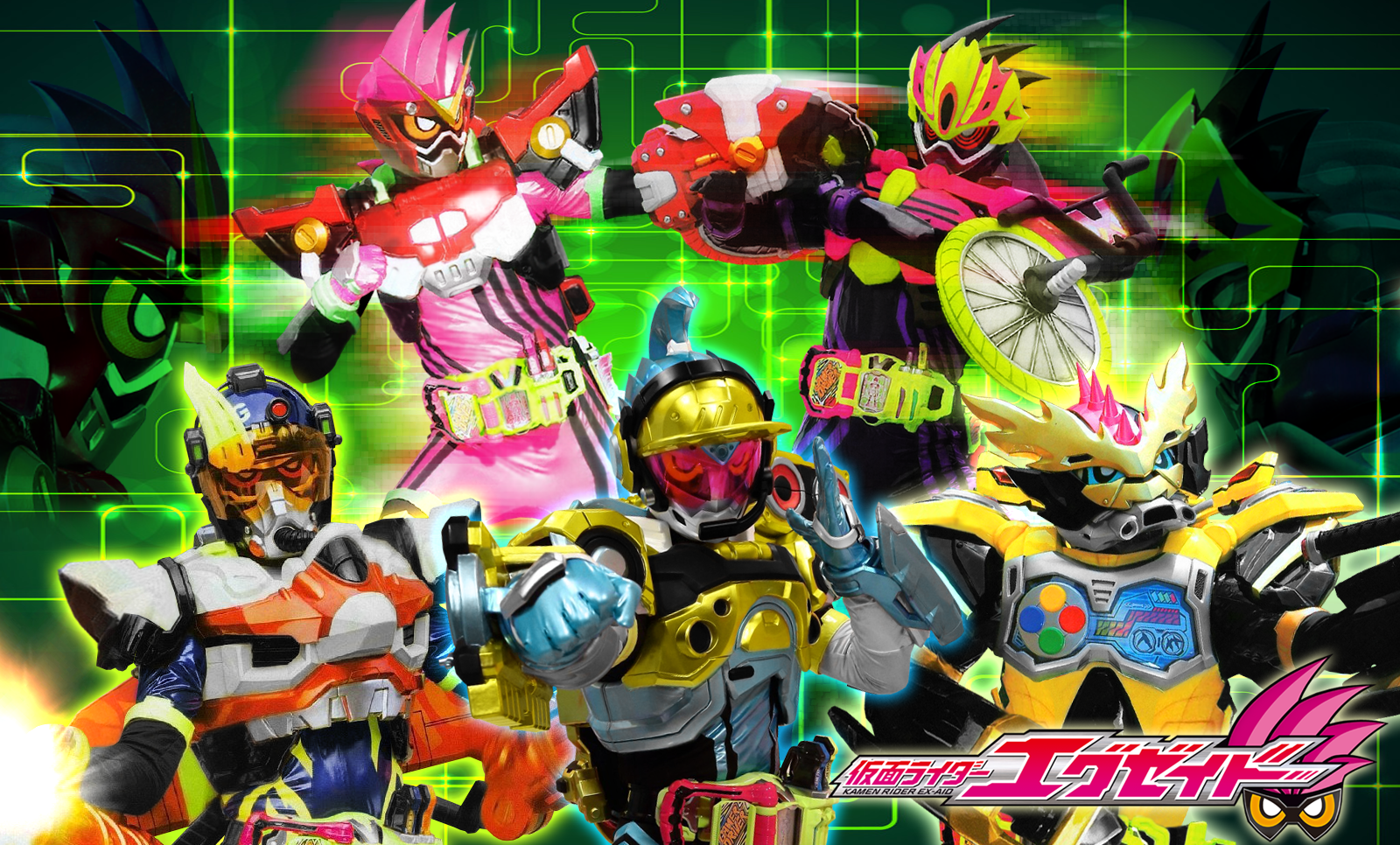Jefusion Japanese Entertainment Blog The Center Of Tokusatsu Top 10 Best Looking Rider Suits In Ex Aid