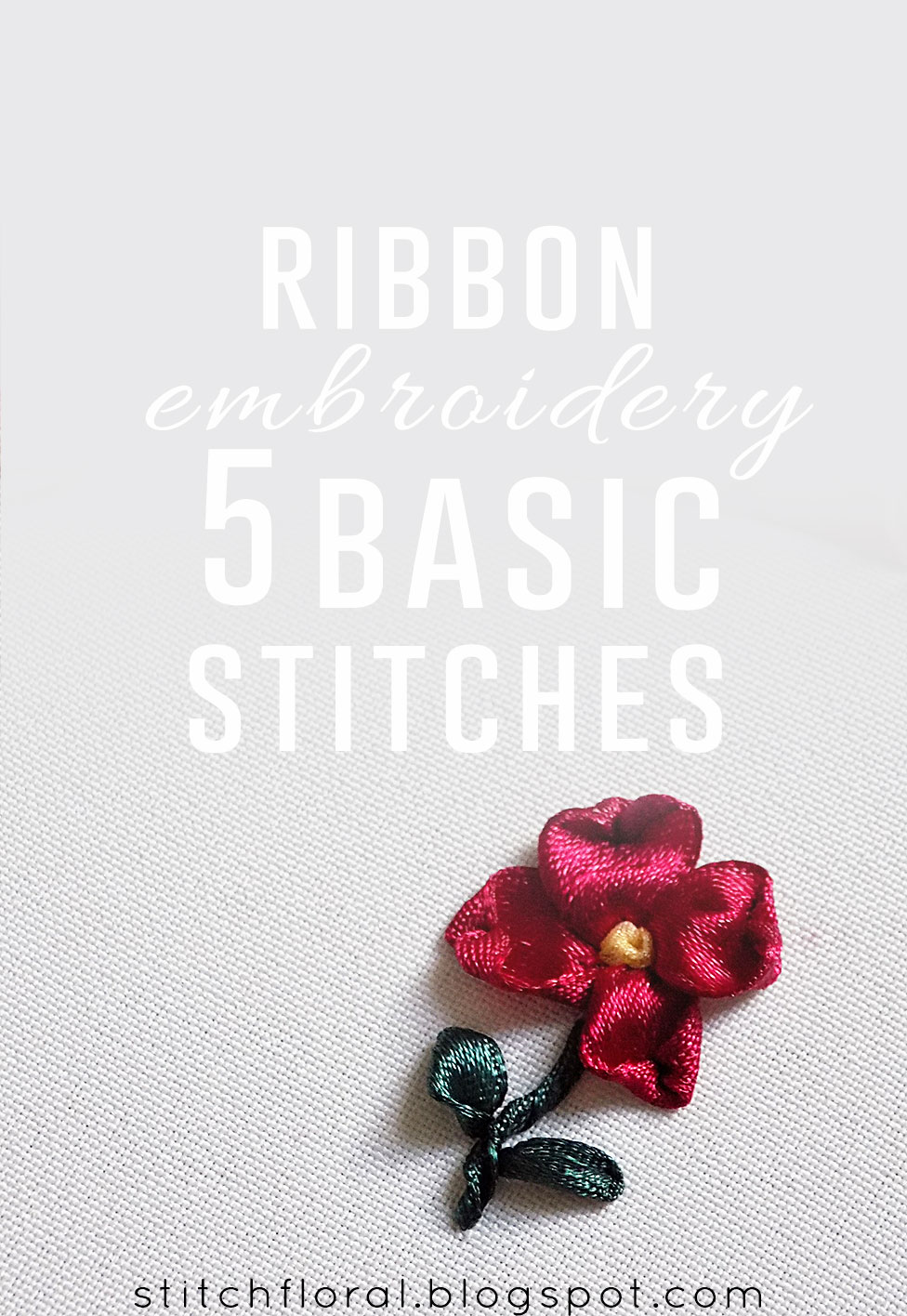 5 Basic But Timeless Makeup Techniques: 5 Basic Stitches For Ribbon Embroidery
