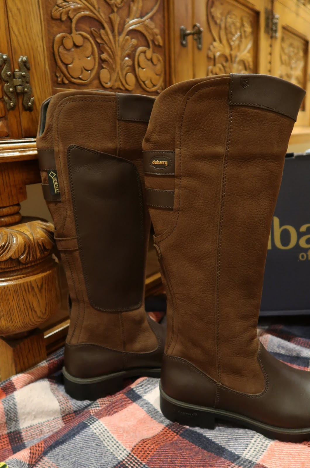 dff7b70a232 Charlotte in England: Dubarry: Boots fit for a Queen