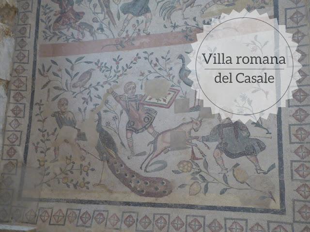 Piazza Armerina: la Villa romana del Casale con mosaici