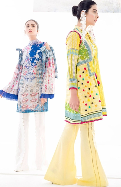 Renaissance II - Ethnic Lawn SS-2017 Unstitched Collection