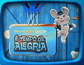 Promoção Lacta É tempo de alegria pascoalacta.com.br