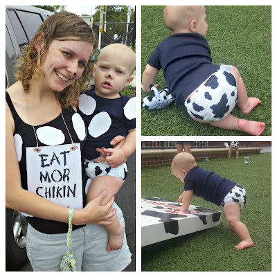 cloth diapers cow print