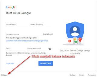 buat akun google di pc