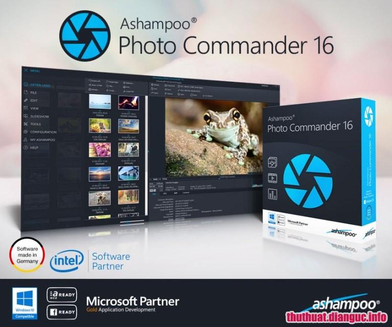 Ashampoo Photo Commander 16.0.4 Full Cr@ck – Phần mềm chỉnh sửa ảnh chuyên nghiệp