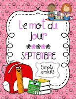 https://www.teacherspayteachers.com/Product/Le-mot-du-jour-Septembre-Back-to-School-Word-of-the-Day-1328061