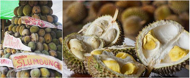 Olahan durian yang begitu menarik di Kampung Durian Slumbung Kediri