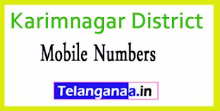 Bheemadevarpalle Mandal Sarpanch Upa-Sarpanch Mobile Numbers List Karimnagar District in Telangana State
