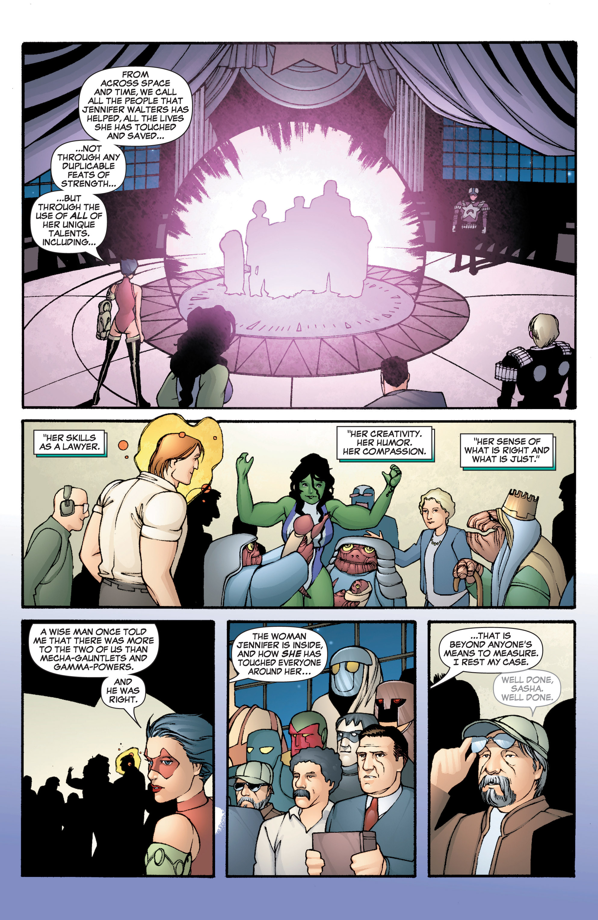 Read online She-Hulk (2005) comic -  Issue #3 - 35