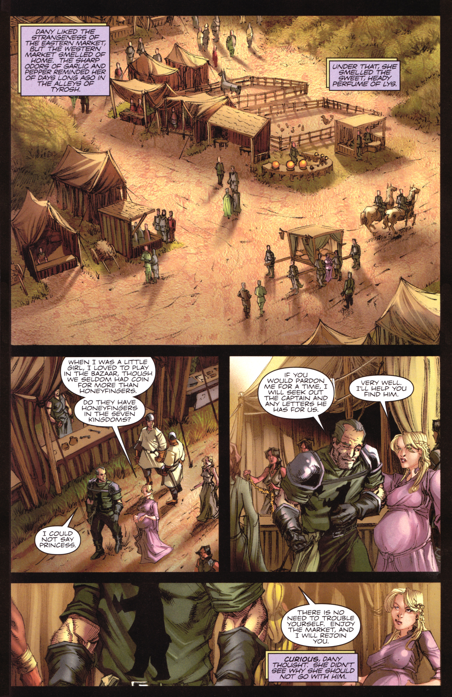 Read online A Game Of Thrones comic -  Issue #17 - 27