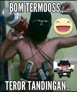 Kumpulan Meme Konyol Nyindir Bom Panci Bikin Ngakak - Commando