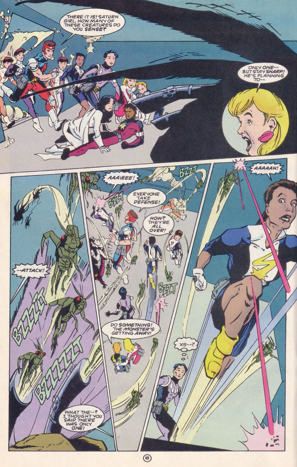 Legion of Super-Heroes (1989) 62 Page 18