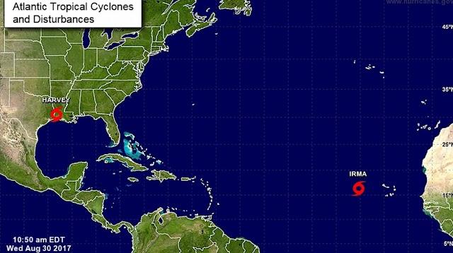 Tormenta amenaza Irma convertirse en huracán rumbo al Caribe