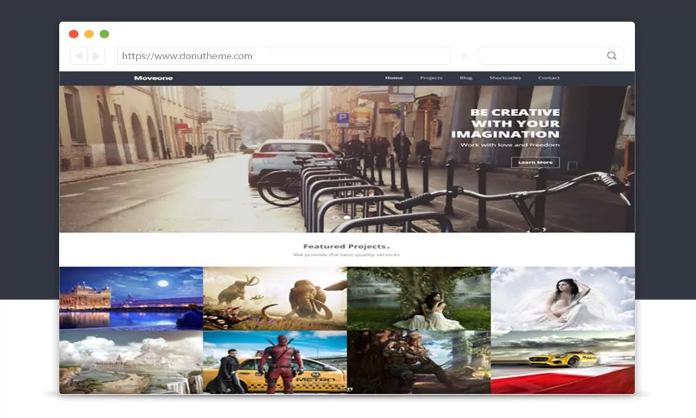 Moveone Responsive Blogger Template