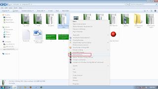Cara mudah membuat file executable (.exe) atau setup wizard menggunakan Winrar