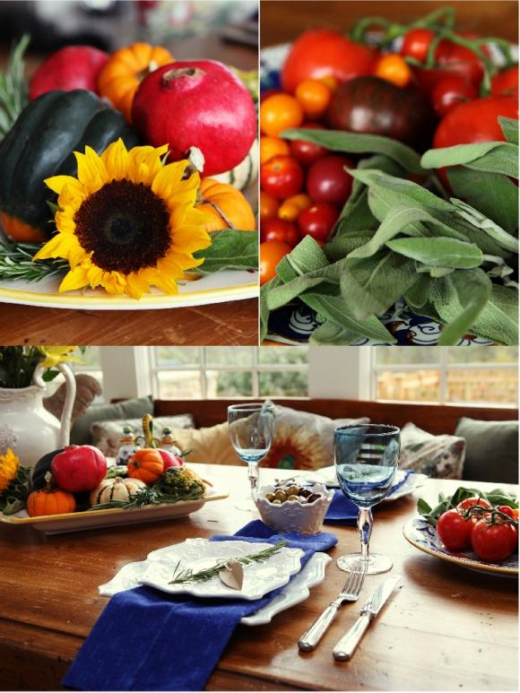 A Taste of Tuscany | An Italian Fall Dinner Party - via BirdsParty.com