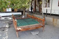 Tajikistan, Khujand, Gulakandoz, Davron Samatovtopchan Street, topchan, © L. Gigout, 2012