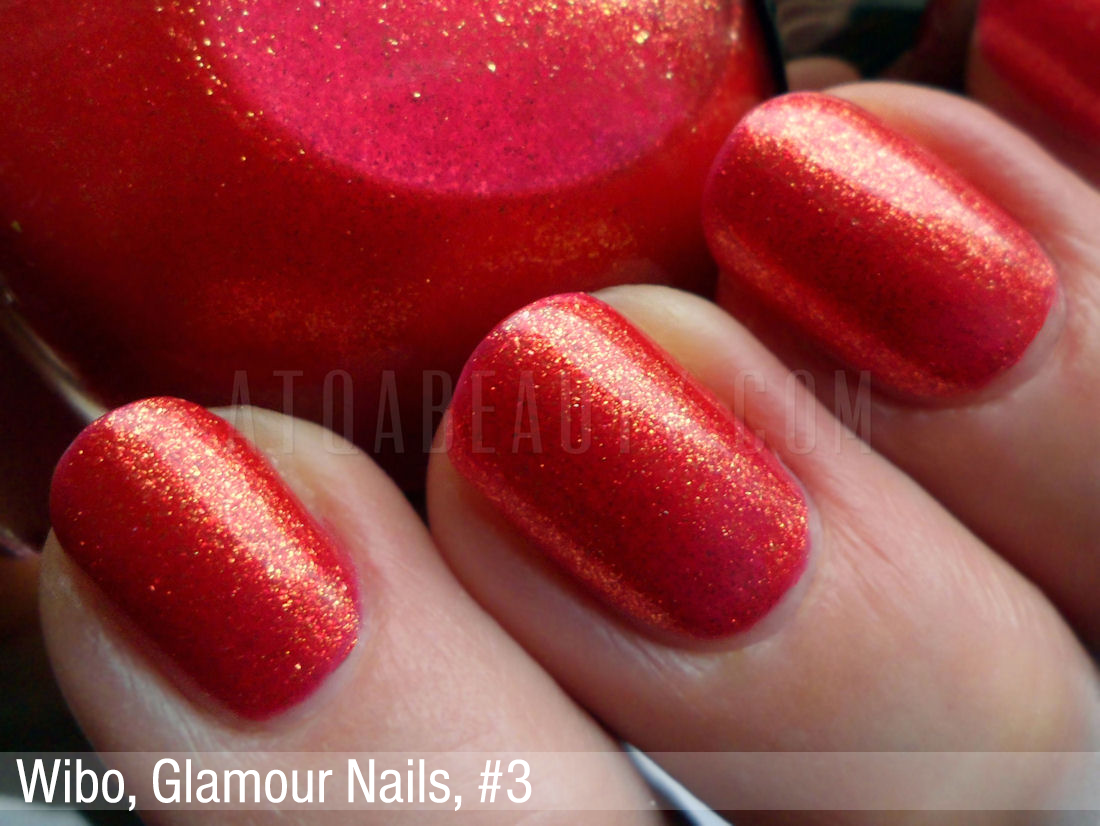 Wibo Glamour Nails nr 3
