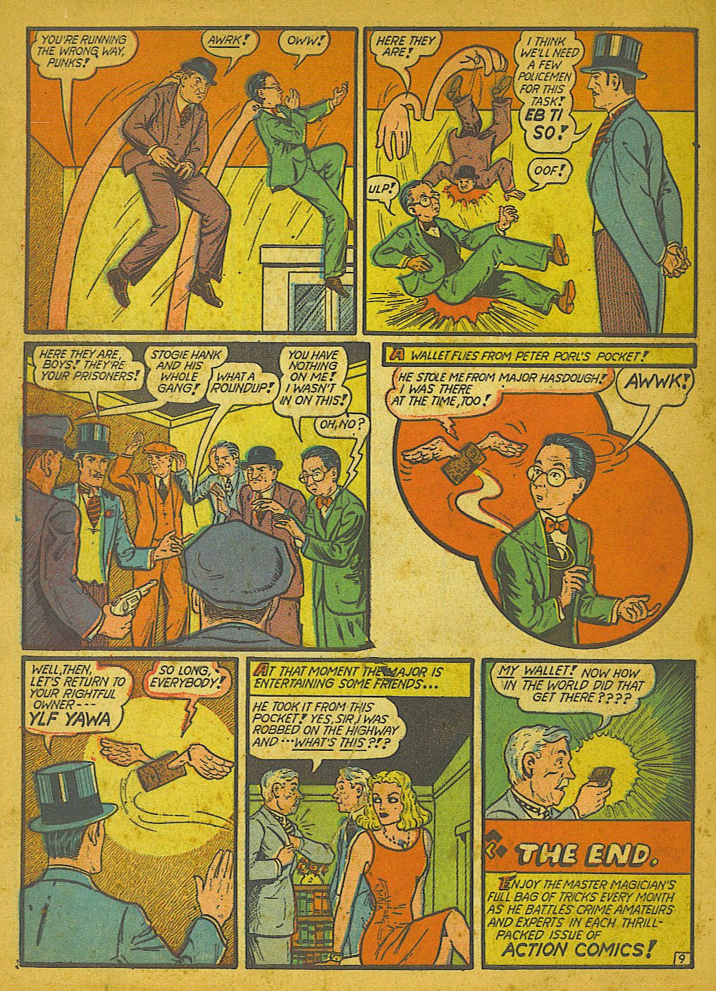 Read online Action Comics (1938) comic -  Issue #51 - 67