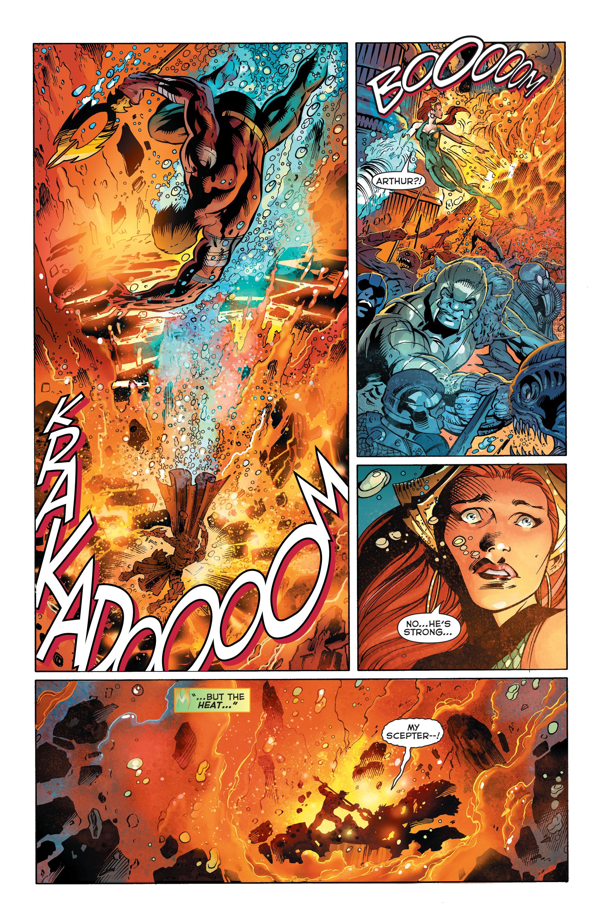 Read online Aquaman (2011) comic -  Issue #25 - 16