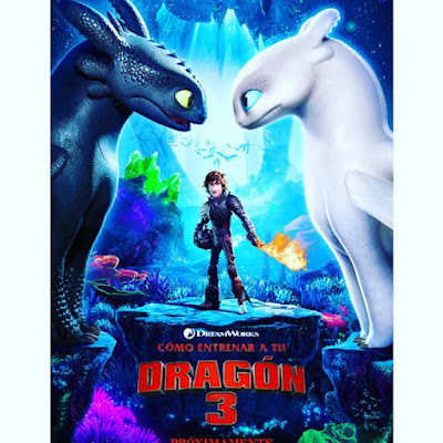 nos vamos al cine, how to train your dragon, the hidden world, película, cine, cartelera, como entrenar a tu dragon, como entrenar a tu dragon 3,