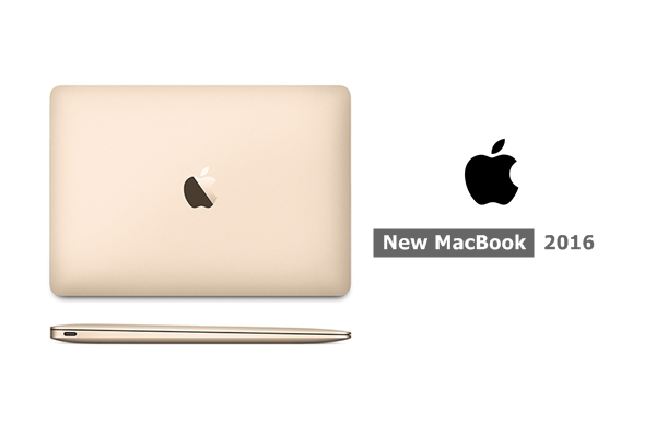 Apple New MacBook 12 Inch Gold