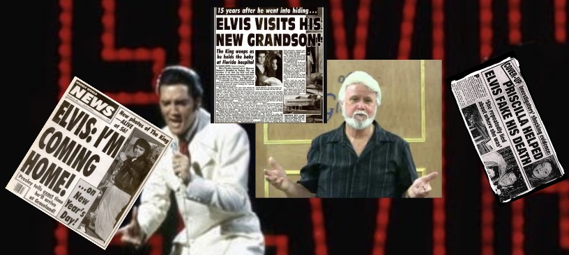 Elvis Has Left The Building... And Gone Home