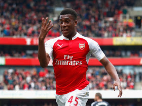 Rohr delighted with Iwobi's pre-season form for Arsenal