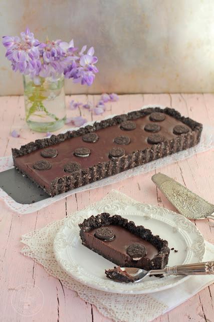 Cocinando entre olivos tarta de chocolate y galletas oreo for Cocinando entre olivos