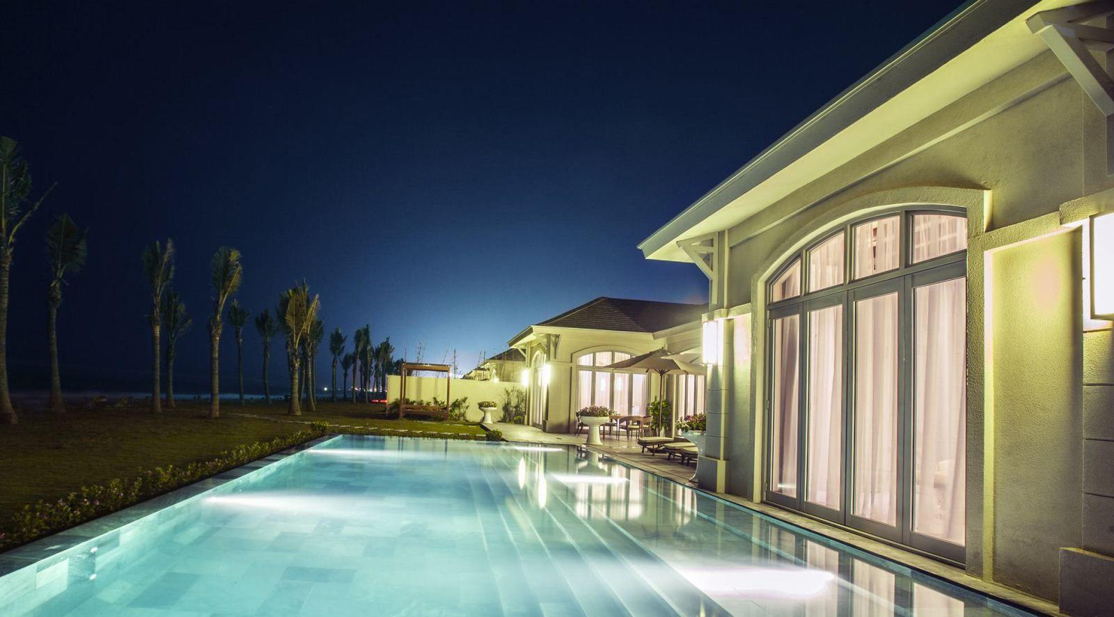 Căn villas thuộc Fusion Resort